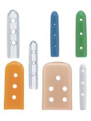 Instrument Tip Protectors  Brown  15.9mm x 25.4mm