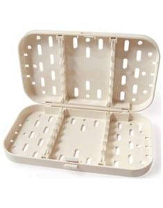 Plastic Sterilization Container  Two Tiered