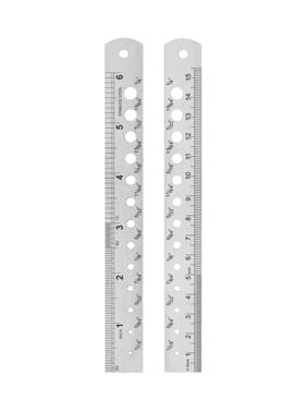 Ruler with Metric Conversions  15cm