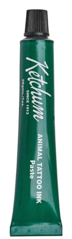 Green Tattoo Paste